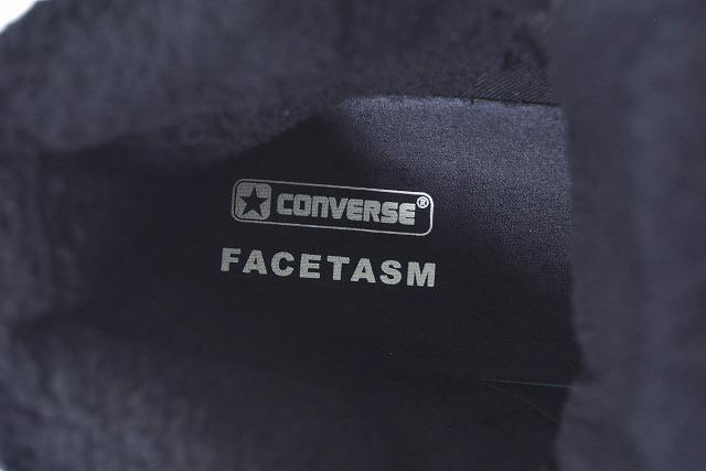 新品 FACETASMファセッタズム× CONVERSEコンバースWEAPON HI FC ウエポン ハイ BLACK US10 ブラック HR SHO CO01 30TH 30周年 ボアzSMpVGULq