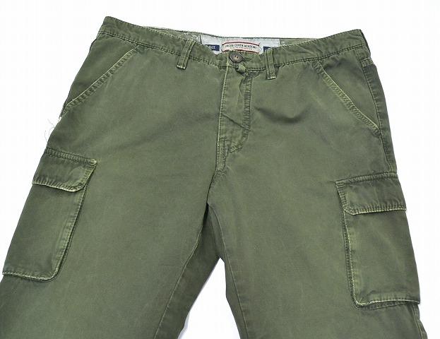 JACOB COHEN(雅可布科恩)NEW VINTAGE CARGO PANTS洗涤&系统瘫痪加工货物裤子33 OLIVE APW 118 5993 JACOB COHEN ACADEMY Masterpiece Heritage Trouser