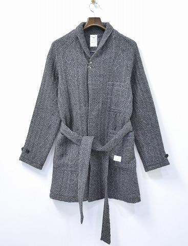 【新品】 NAME. (ネーム) Roving Knit Gown ロービングニットガウン 1 GREY
