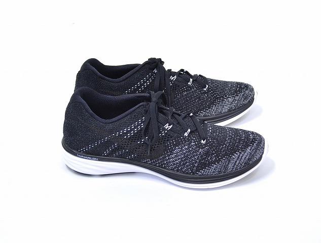 new york b8dc7 08fdc NIKE (Nike) FLYKNIT LUNAR 3 iD Flint Luna BLACK US10 black running shoes  sneakers