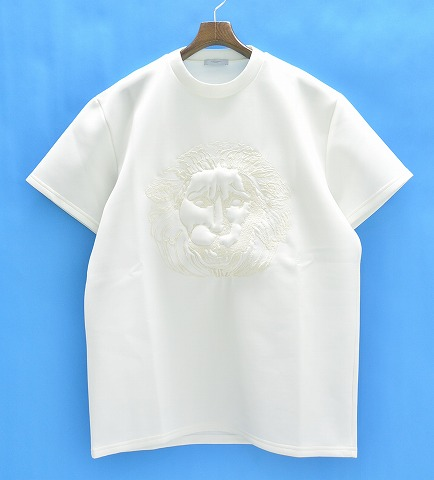 【新品同様】 DI MORABITO (ディ・モラビト) LION FACE TEE ライオンフェイスTシャツ XL WHITE 15SS 【中古】