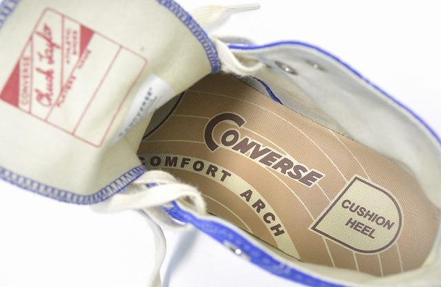 (匡威瘾君子) 逆向上瘾查克泰勒帆布喜查克 · 泰勒帆布高切 15 AW 蓝色 26.5 厘米全明星全明星运动鞋 Vibram Vibram Vibram