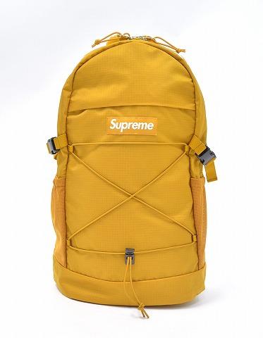 SUPREME Shupurimu BACKPACK Backpack 16SS GOLD Bag