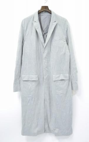 【中古】 Casely-Hayford (ケイスリーヘイフォード)皺加工コート 38 GREY