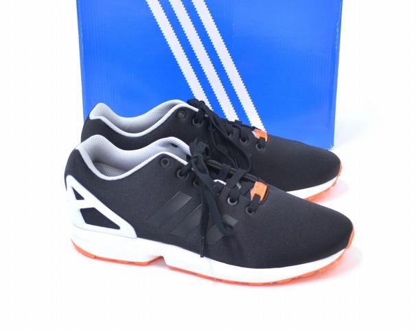 【新品】 adidas Originals (アディダス オリジナルス) ZX FLUX ZXフラックス US10 28cm BLACK B34504 シューズ スニーカー 靴