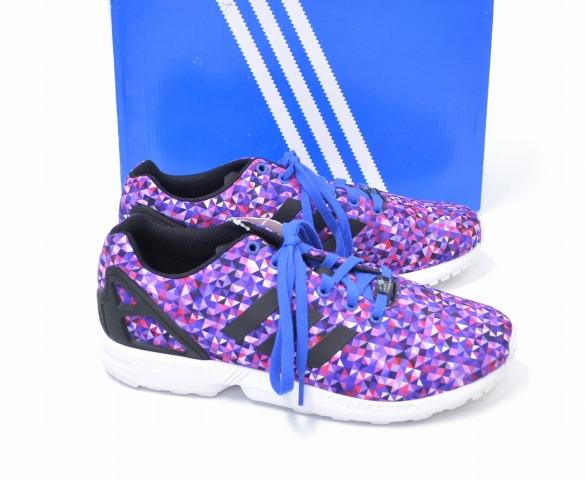 【新品】 adidas Originals (アディダス オリジナルス) ZX FLUX ZXフラックス US10 28cm PURPLE S82837 海外限定モデル 日本未発売 シューズ スニーカー 靴
