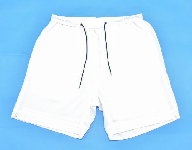 【新品】 bukht (ブフト) CUBA SHORTS キューバショーツ 1(M) WHITE 15SS ハーフパンツ ショートパンツ 短パン