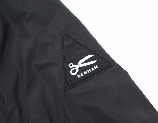 DENHAM (Denham) Ma-1 BOMBER JACKET bomber jacket S BLACK nylon jacket