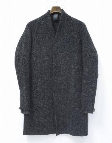 【新品】 Lien (リアン) anatomy arm round pocket coat アナトミーアームラウンドポケットコート 44 BLACK