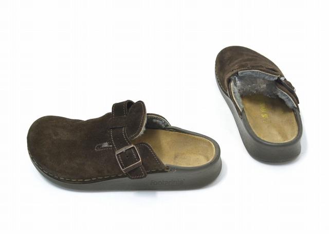 a8918cc6735 Footprints by BIRKENSTOCK (footprints by Birkenstock) ANTWERPEN Antwerp 42  27 cm BROWN suede Sandals BOA