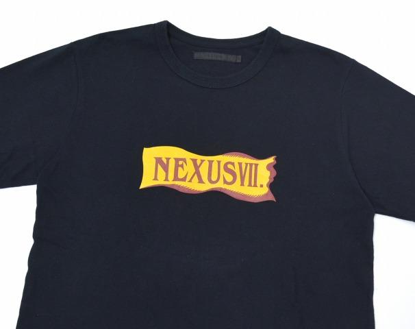 NEXUSVII(nekusasusebun)EXTRO Renewal Tee改修T恤BLACK 44黑色Special Limited Edition纪念限定T-Shirts RIBBON蝴蝶结LOGO标识CROSS交叉NEXUS7