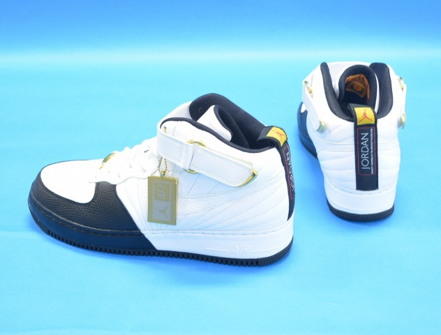 reputable site e0c3c 435c4 NIKE (Nike) AJF12 AIR JORDAN FUSION 12 Air Jordan fusion WHITE BLACK-TAXI  US12 white   black taxi 23 TH anniversary XII AIR FORCE 1 air force one  sneakers ...
