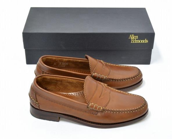 2548196c69b Allen Edmonds (Allen Edmonds) Kenwood PENNY LOAFERS Kenwood penny loafer 9D  TAN penny loafers beef roll