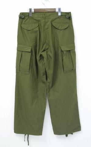 YAECA LIKE WEAR(yaekaraikuuea)Fatigue Pants-OLIVE(SATIN) - 大音阶第四音蒂格裤子橄榄段子166012 16SS LARGE-REGULAR CARGO货物MILITARY军事ARMY陆军
