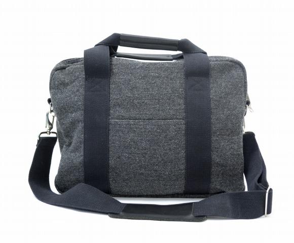 【中古】ENGINEERED GARMENTS (エンジニアードガーメンツ) Briefcase - Wool Herringbone ブリーフケース ウールヘリンボーン GREY グレー 2WAY TOTE BAG トートバッグ SHOULDER BAG ショルダーバッグ 鞄 カバン