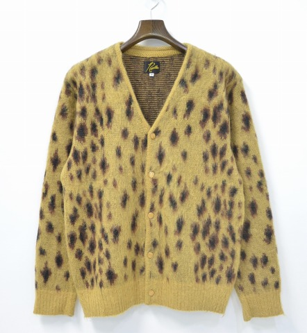 Used Select Shop Greed Needles Needles Mohair Cardigan Leopard