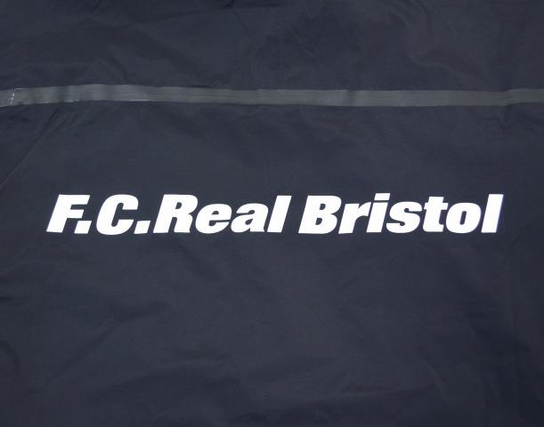 F.C.真正布里斯托尔 (FC 真正布里斯托尔) 温暖了夹克热身夹克 16 AW FCRB 167000 黑米黑 F.C.R.B.evseyar 红宝石恭顺 SOPHNET。 Sofnet 风衣风衣
