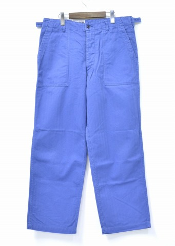 ENGINEERED GARMENTS (engineer Edgar instruments) Workaday Fatigue Pant -  Cotton Herringbone workaday fatigue pants herringbone BLUE M blue Pants  Baker Baker ... 102fc613f98