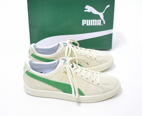 buy popular bbde5 d59cb X-large x PUMA×MITA SNEAKERS (extra large x PUMA x Mita sneakers) CLYDE FOR  XLARGE MITA Clyde US8.5 26.5 cm WHITE×GREEN 16AW sneakers shoe shoes