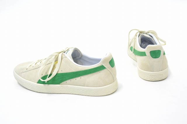 75ca0955cdff X-large x PUMA×MITA SNEAKERS (extra large x PUMA x Mita sneakers) CLYDE FOR  XLARGE MITA Clyde US8.5 26.5 cm WHITE×GREEN 16AW sneakers shoe shoes