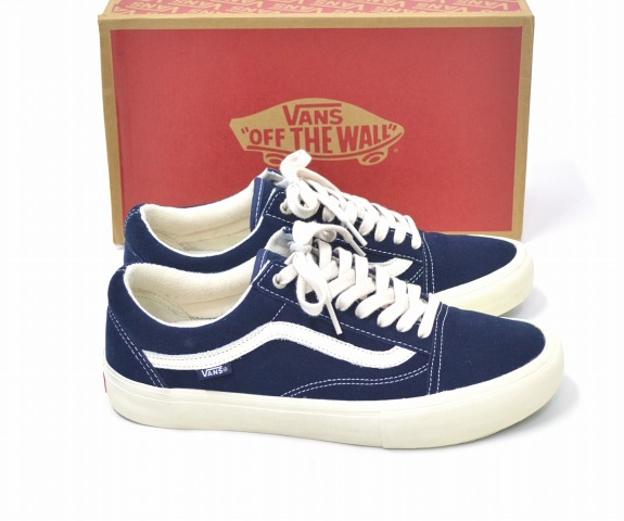 38b117d68b4e ONLY NY (New York only) x VANS (vans) OLD SKOOL PRO old-school Pro W   16 A  Dress Blues Cream US11 29.0 cm Blue   cream SNEAKERS sneakers SKATE BOARD  SHOES ...
