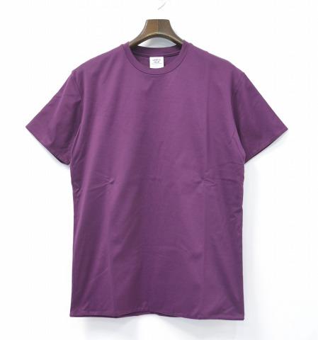 【中古】 Mr.GENTLEMAN (ミスタージェントルマン) DRESS TEE ドレスTシャツ L PURPLE 15SS 半袖
