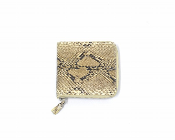 (Needles) needles Zipped Wallet - Python wallet Python wallet snake snake ROUND round zip FASTENER zipper leather needles Nepenthes Nepenthes 10P03Dec16