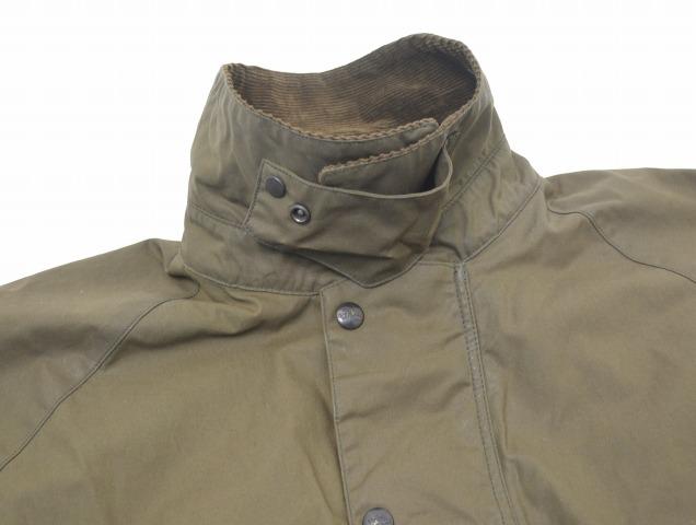 OLD JOE & Co. (Old Joe) OILED CLOTH RIDING PONCHO JACKET oil skeleton sliding poncho jacket 15AW 152JK02 BRITISH GREEN 38 British green and Coe