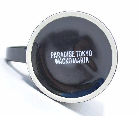 WACKO MARIA (Wako Maria) GUILTY PARTIES MUG mug cup 16AW BLACK FREE black PARADISE glass earthenware