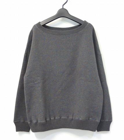 【新品】【レディース】 Olta design garments (オルタデザインガーメンツ) KNIT SWEAT ニットスウェット 02 MIX GREEN 14AW