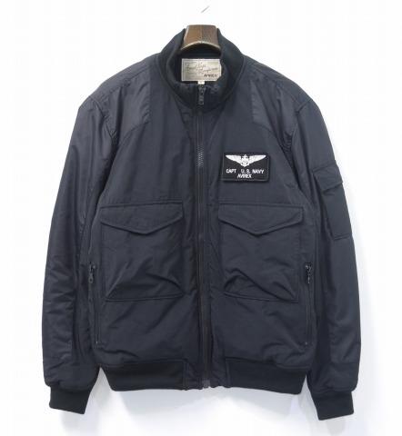 AVIREX(abirekkusu/avirekkusu)WEP CUSTOM FLYGHT JACKET WEP特别定做飞行员茄克XL BLACK军事茄克