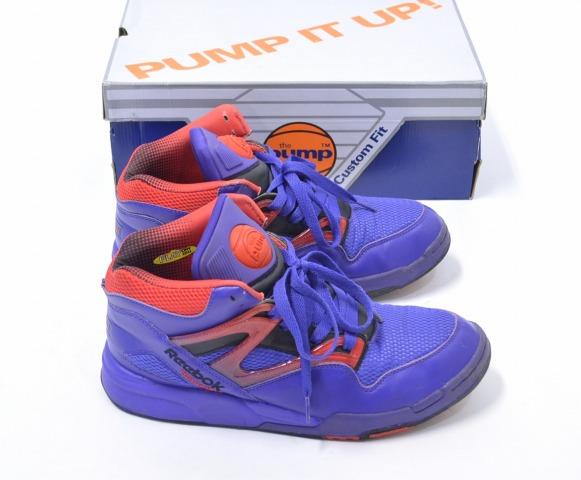 reebok pump purple