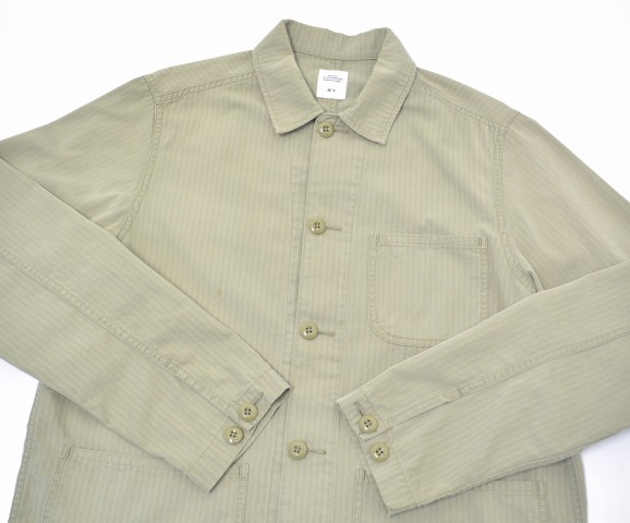 "BEDWIN&THE HEARTBREAKERS(游牧族&这个心断路器)MILITARY COVERALL FD""NICK""军事覆盖物全部4 OLIVE人字形"