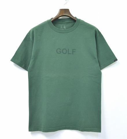9763a58fffb555 GOLF WANG (golf one) GOLF T-SHIRTS logo T-shirt GREEN M green LOGO TEE  OFWGKTA (Odd Future WolfGang Kill Them All   オッド future wolf gang kill them  all)