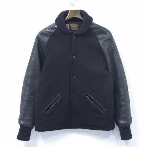 【中古】 SKOOKUM (スクーカム) SUR COAT サーコート 34 BLACK JACKET ジャケット ラグラン