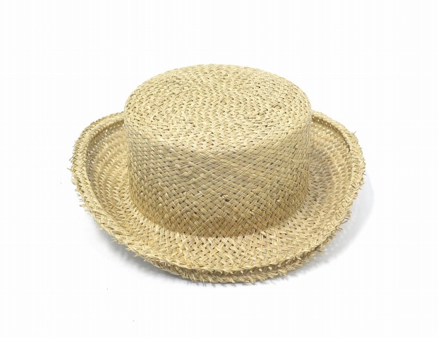 Vivienne Westwood Worlds End(vivianuesutouddowaruzuendo)Straw John Bull Hats吸管约翰牛帽子NATURAL草帽