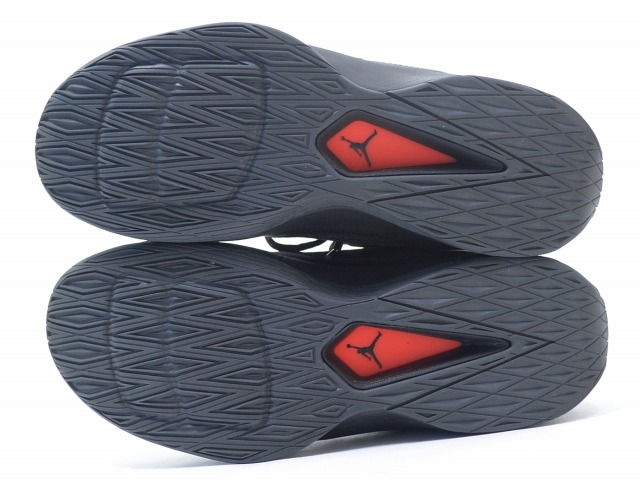 8e71415b9e2d72 NIKE (Nike) JORDAN RISING HIGH 2 Jordan rising high 2 16FA BLACK DARK GREY- BLACK-INFRARED US8.5 26.5 black   dark gray   infrastructure red SNEAKERS  ...