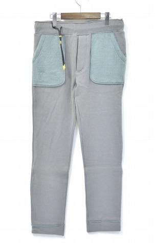 【新品同様】【訳あり】 CRUCE&Co. (クルーチェ アンド コー) C/F Jersey Pants ジャージーパンツ M GREY イージーパンツ スウェットパンツ 【中古】