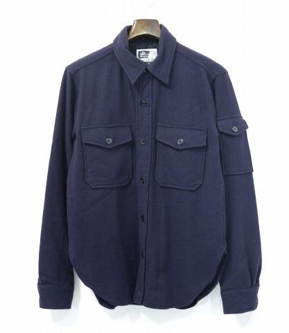【中古】 ENGINEERED GARMENTS (エンジニアードガーメンツ) CPO Shirt - Wool Flannel CPOシャツ ウールフランネル NAVY S ネイビー U.S.NAVY Chief Petty Officer Military ミリタリー Army アーミー シャツジャケット Jacket