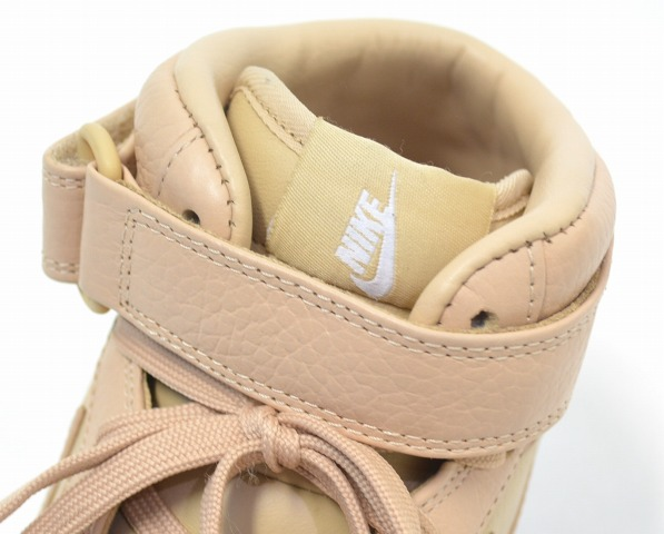 bfeb9492691 NIKELAB (Nike laboratory) AIR FORCE 1 MID Air Force One mid Vachetta Tan White  US10 28.0cm バチェッタタン   white BEIGE beige LEATHER SNEAKERS leather ...