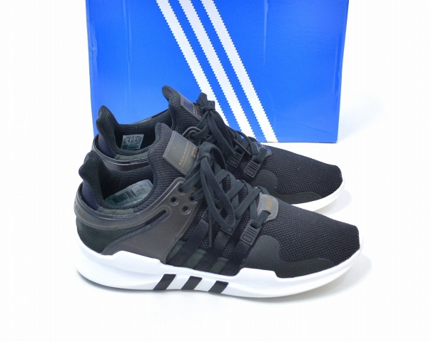 cheap for discount fb704 27be9 adidas Originals (Adidas originals) EQT SUPPORT ADV E cue tea support  advance US10.5 28.5cm BLACK X WHITE BB1295 sneakers shoes shoes running  Japanese ...