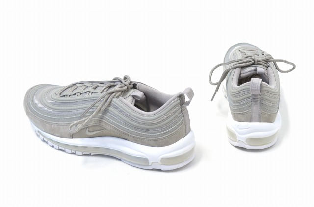 NIKE (Nike) AIR MAX 97 Air Max 97 US9.5 27.5cm COBBLESTONE X COBBLESTONE WHITE 17AW 921,826 002 shoes sneakers shoes running GREY is gray