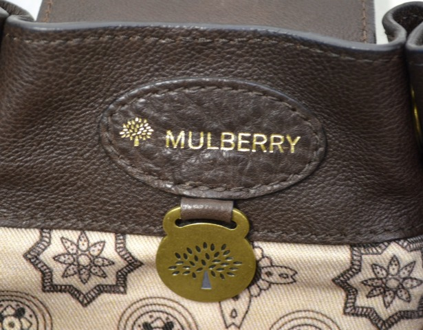 e01218f01b used select shop Greed  MULBERRY (circle berry) LEATHER BAG leather ...
