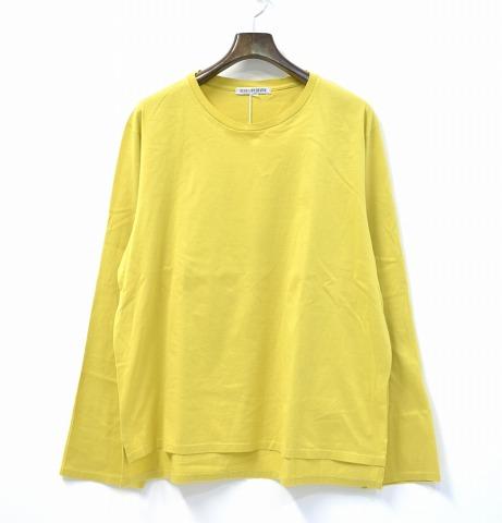 【新品】 7×7 (セブン バイ セブン) CHEMICAL DYE T-SHIRT LS ケミカルダイロングスリーブTシャツ L YELLOW 17AW SBSF17CDTSL seven by seven L/S 長袖 カットソー