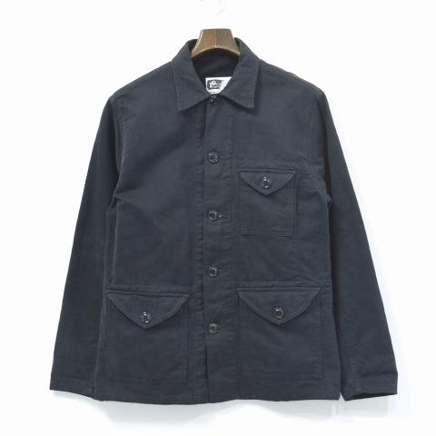 【中古】 ENGINEERED GARMENTS (エンジニアードガーメンツ) Field Shirt Jacket フィールドシャツジャケット BLACK XS ブラック Coverall カバーオール Work ワーク Military ミリタリー Army アーミー