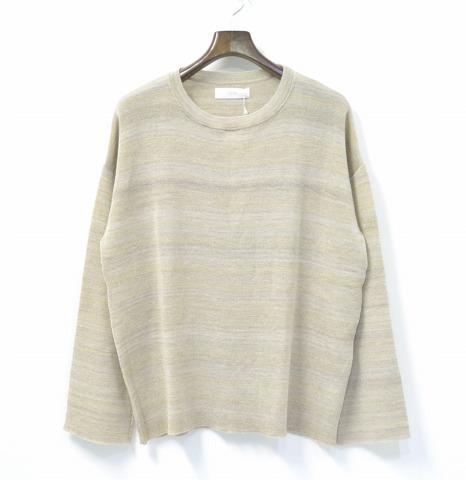 【新品】 THEE (シー) DROP KNIT ドロップニット FREE WHITE 15AW クルーネックセーター