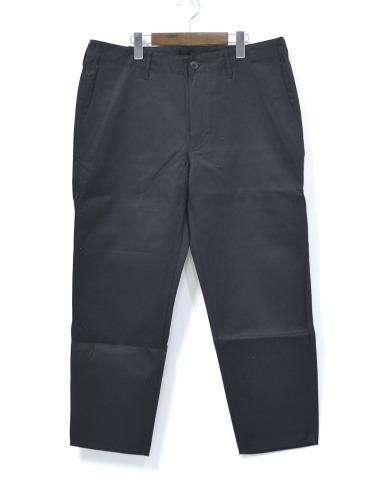 【新品】 Mr.GENTLEMAN (ミスタージェントルマン) CHINO PANTS BASIC ベーシックチノパンツ XL BLACK MG-TR01 MISTERGENTLEMAN CHINO TROUSERS チノトラウザース チノパン