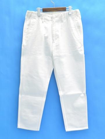 【新品】 Mr.GENTLEMAN (ミスタージェントルマン) BASIC CHINO PANTS ベーシックチノパンツ L WHITE MG15S-TR01 MISTERGENTLEMAN CHINO TROUSERS チノトラウザース チノパン