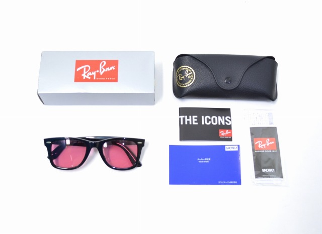 4855d314526 ... 22 BLACK X PINK 17AW WAYFARER way Farrar RayBan Ray-Ban BEAUTY YOUTH  UNITED ARROWS case comment RB 2140-F 901 SUNGLASSES sunglasses glasses  glasses