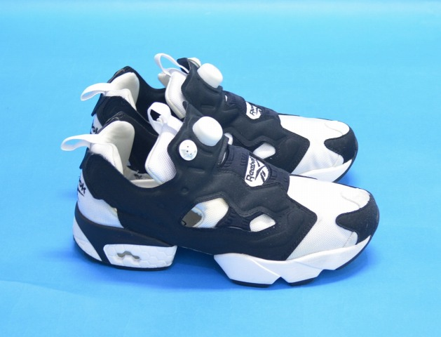99c4179f5cce Reebok (Reebok) INSTAPUMP FURY OG インスタポンプフューリー US8 26cm BLACK X WHITE  M48559 shoes high technology sneakers shoes monotone monochrome